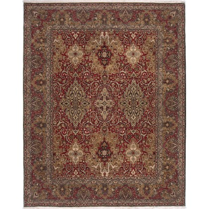 Cyrus Artisan Indian Lavar Kerman Rug