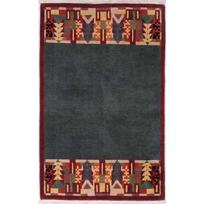 Tufenkian Arts n Crafts AmericanDeco Grey Rug
