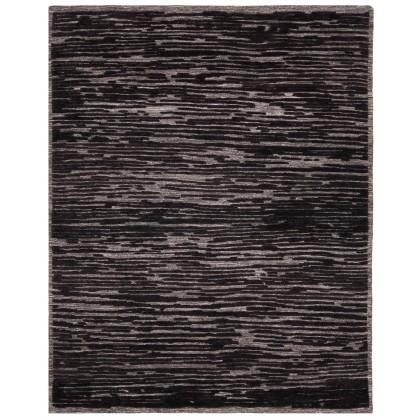 Cyrus Artisan Graph GRP-02 Rugs-Charcoal-8 x 10