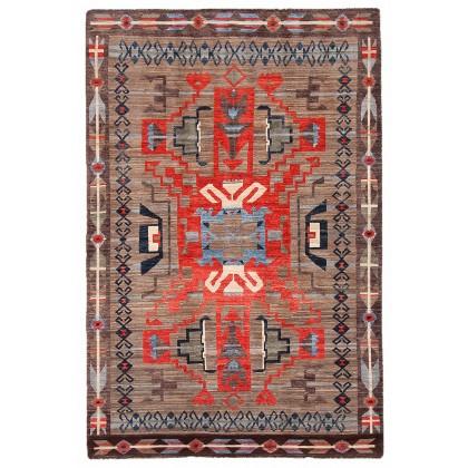 Cyrus Artisan Afghani Navajo Tribal Rug