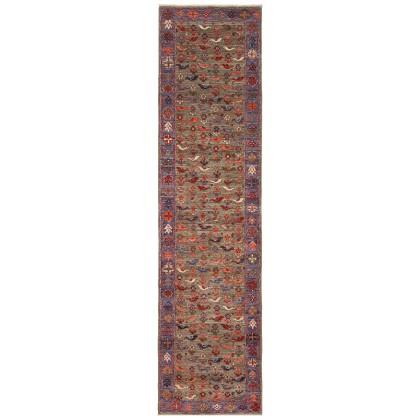 Cyrus Artisan Afghani Fine Aryana Folk Art Rug
