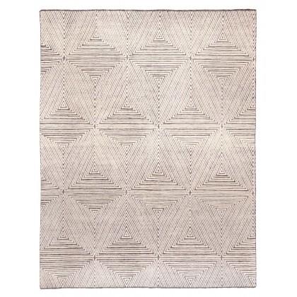 Cyrus Artisan Savanna SVN-05 Rugs-Ivory/Brown-8 x 10