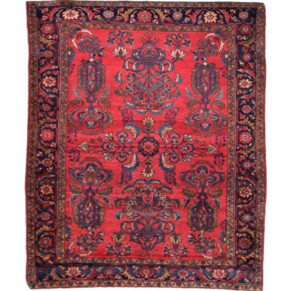 Cyrus Artisan Antique Persian Lilihan Rug