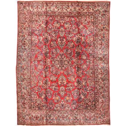 Cyrus Artisan Semi Antique Persian Sarouk Rug