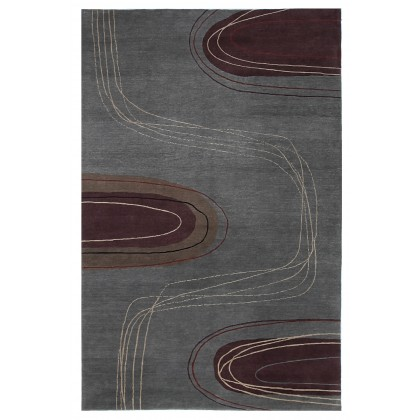 Tibet Rug Company Meander Teal Area Rugs