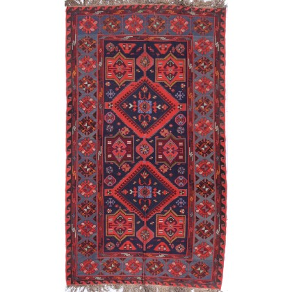Cyrus Artisan Antique Russian Soumak Rug
