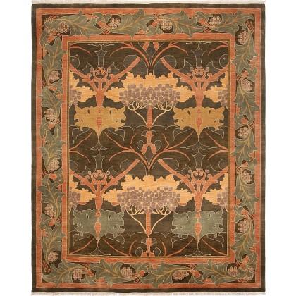 Cyrus Artisan Indian Arts and Craft Rug