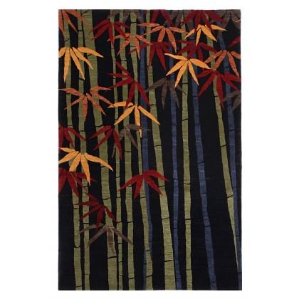 Tufenkian Kotana Bamboo Forest Ebony Rugs