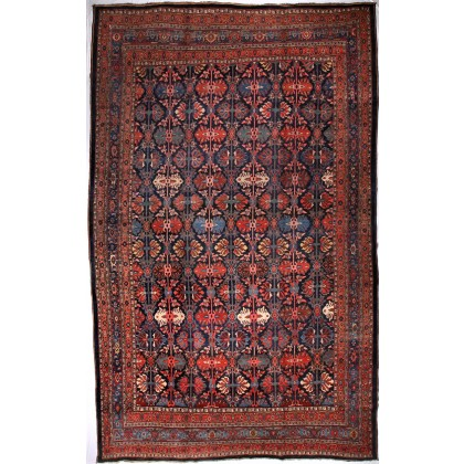 Cyrus Artisan Antique Persian Bidjar Rug