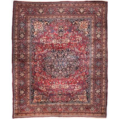 Cyrus Artisan Semi Antique Persian Mashad Rug