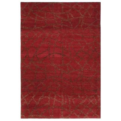 Cyrus Artisan Complexion Crimson Rug
