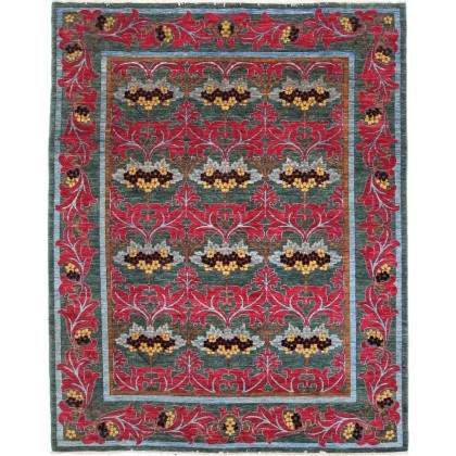 Cyrus Artisan Pakistani Arts Crafts Rug