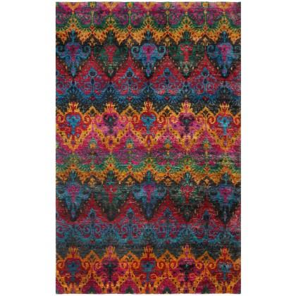 Cyrus Artisan Indian Ikat Rug