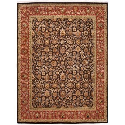 Jaipur Living QNQ-24-Cocoa Brown-Red Ochre Aurora Rugs