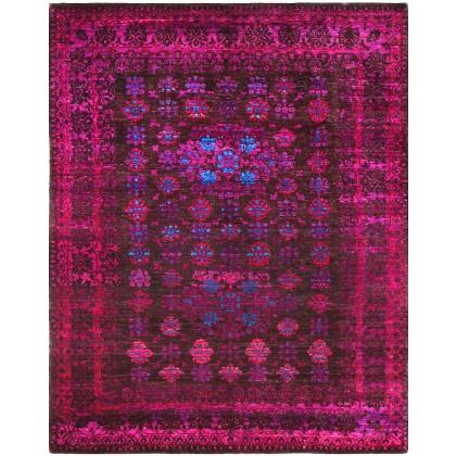 Cyrus Artisan Indian Transitional Sari Silk Rug