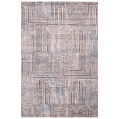 Jaipur Living Project Error By Kavi ESK-472 Rugs-Antique White/Sky Blue-6 x 9