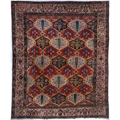 Cyrus Artisan Antique Persian Bakhtiari Rug