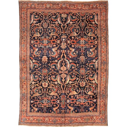 Cyrus Artisan Antique Persian Mahal Rug