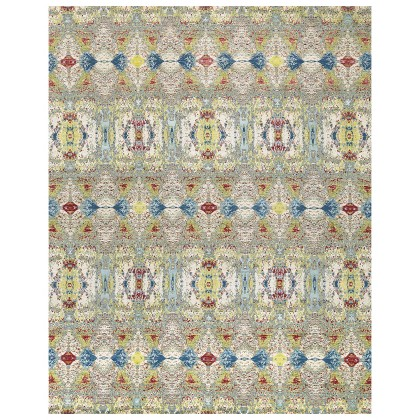 Cyrus Artisan Canvas Art II 1238A Rugs