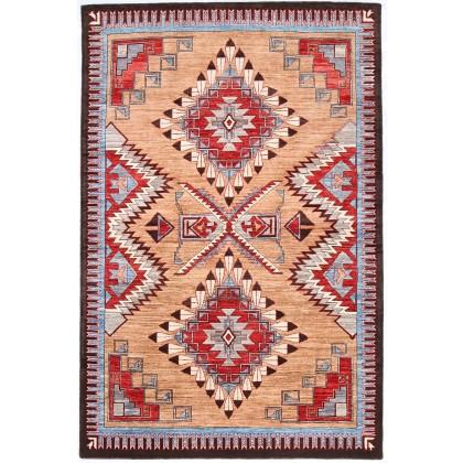 Cyrus Artisan Afghani Navajo Rug