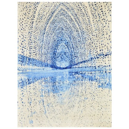 Wool & Silk Contemporary Abyss Rugs