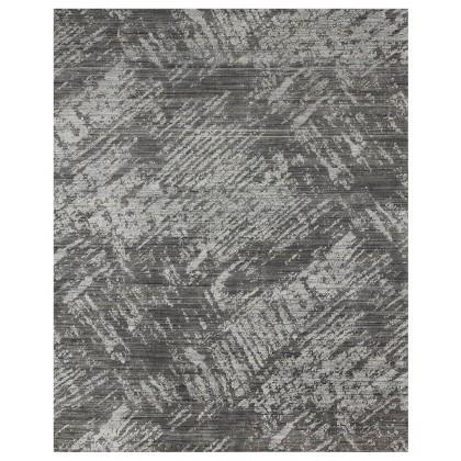 Loloi Arlo ARL-01 Rugs-Charcoal/Silver-7.9 x 9.9