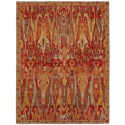 Wool & Silk Afghan Bidjar Rugs