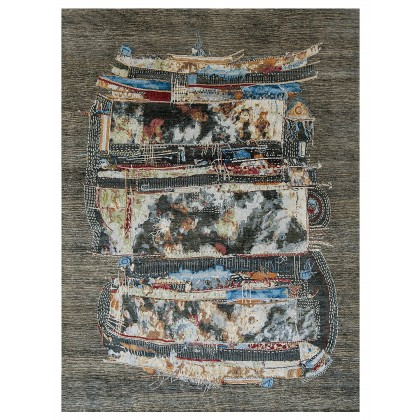 Wool & Silk Contemporary Bliss Rugs