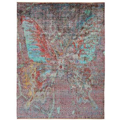 Wool & Silk Silk Road Butterfly Rugs