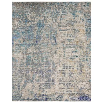 Cyrus Artisan Canvas Art W/Silk C1405 Rugs