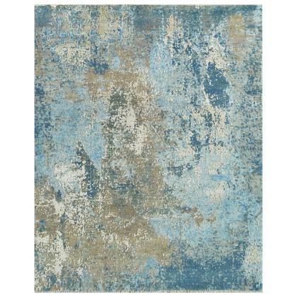Cyrus Artisan Canvas Art W/Silk C2363 Rugs