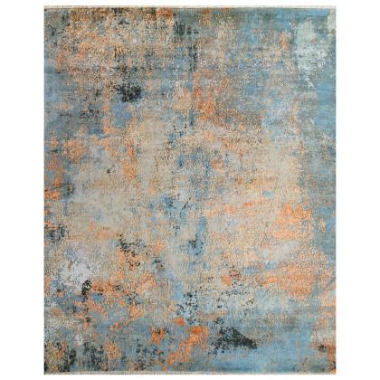 Cyrus Artisan Canvas Art W/Silk C2364 Rugs