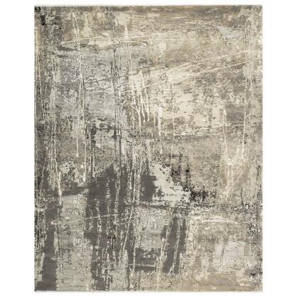 Cyrus Artisan Canvas Art W/Silk C7095 Rugs