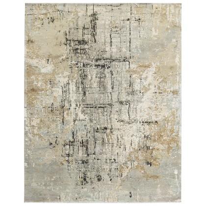 Cyrus Artisan Canvas Art W/Silk C7356 Rugs