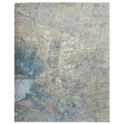 Cyrus Artisan Canvas Art W/Silk C7406 Rugs