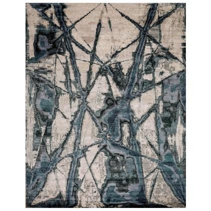 Cyrus Artisan Canvas Art Unix Rugs