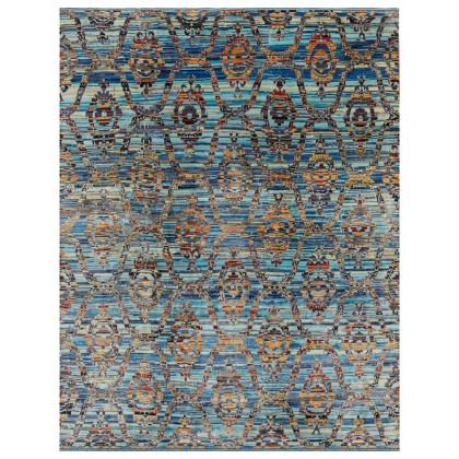 Wool & Silk Silk Road Central Asia Rugs