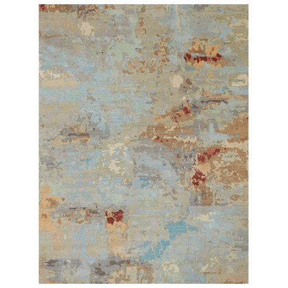 Wool & Silk Contemporary Central Park Rugs