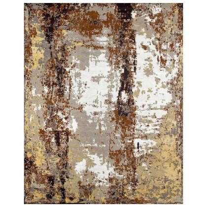 Cyrus Artisan Canvas Art W/Silk CR801 Rugs