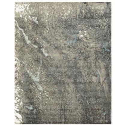 Cyrus Artisan Canvas Art W/Silk CR802 Rugs