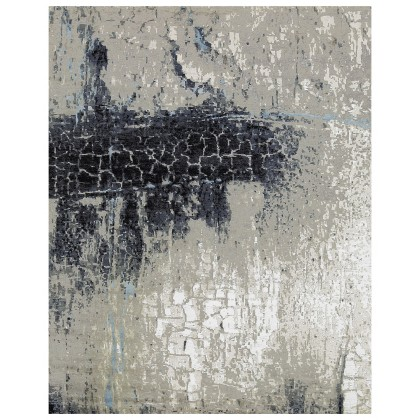 Cyrus Artisan Canvas Art W/Silk CR805 Rugs