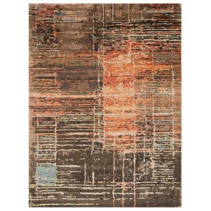 Wool & Silk Contemporary Crossroads Rugs