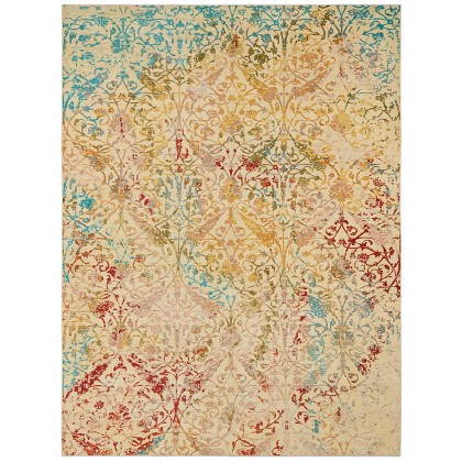 Wool & Silk Afghan Diwali Rugs