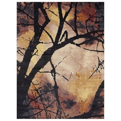 Wool & Silk Contemporary Dream Tree Rugs