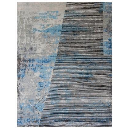 Wool & Silk Contemporary Dubstep Rugs