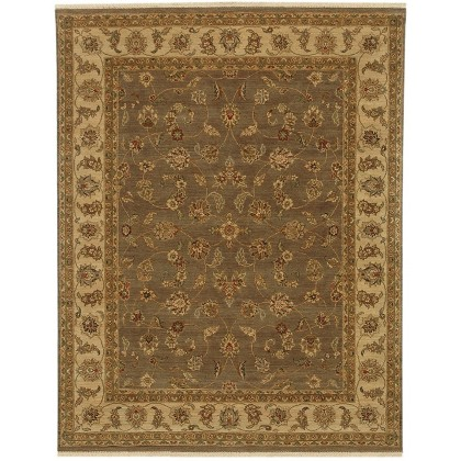 Jaipur Living Opus Caymus Rugs-Gray Brown/Soft Gold