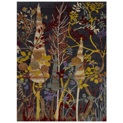 Wool & Silk Transitional Fairy Tale Rugs
