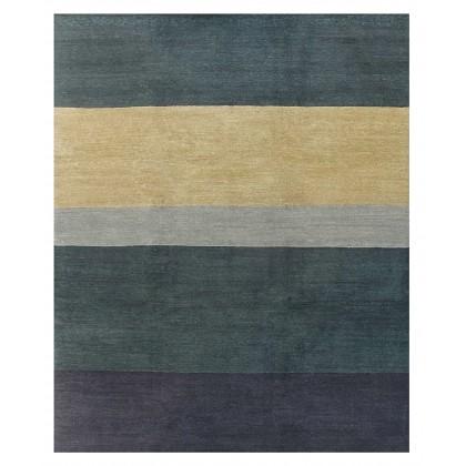 Tufenkian Lama Few Stripes Ocean Rugs
