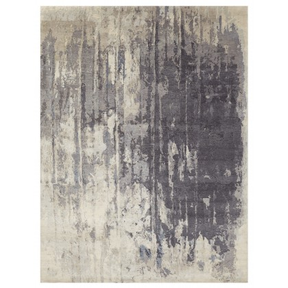 Wool & Silk Contemporary Forgotten Forest Rugs