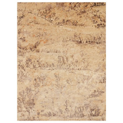 Wool & Silk Contemporary Fossil Rugs